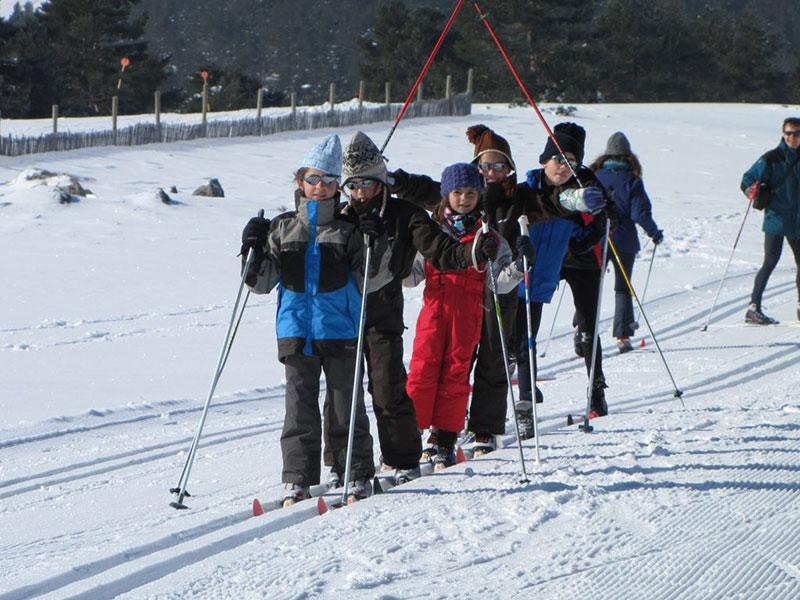 Curso de Esquí de fondo en la Sierra de Madrid