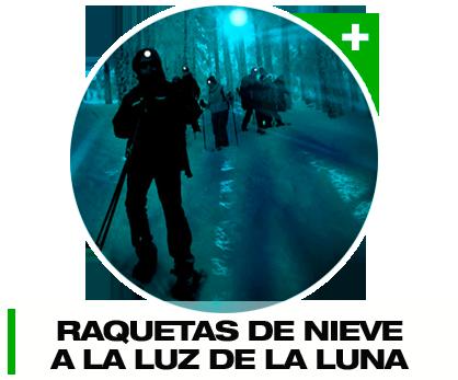Raquetas de Nieve Nocturnas en Madrid