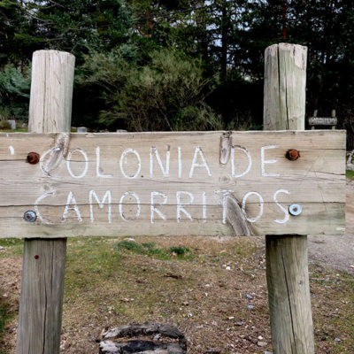 cartel colonia de Camorritos en Cercedilla
