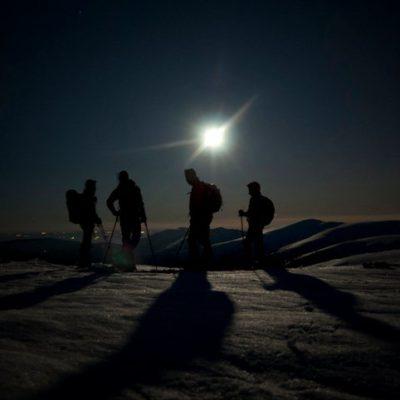 Senderismo en Peñalara a la Luz de la Luna-Central de Reservas Sierra del Guadarrama