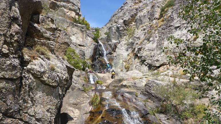 Piragüismo y Barranquismo en la Sierra de Guadarrama