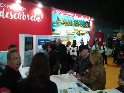 Central de Reservas Sierra del Guadarrama en la I Feria del Viaje.