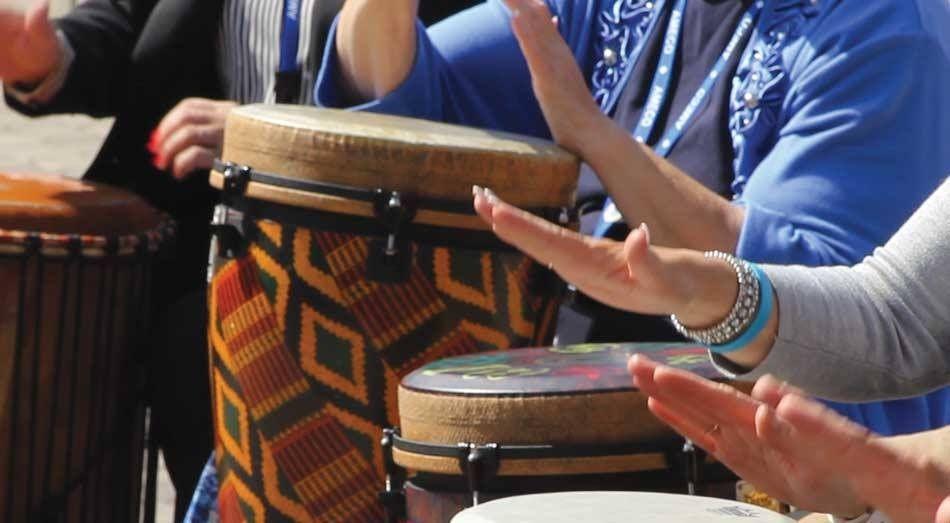 Percusión en la Sierra