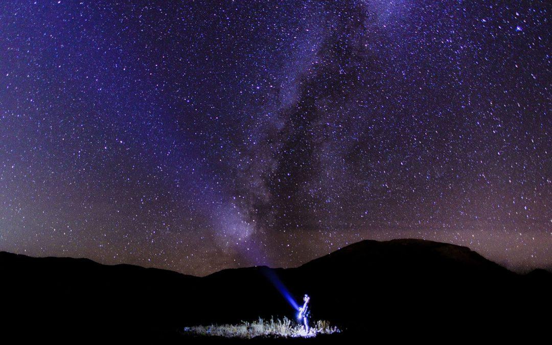 Las noches son mágicas en la Sierra de Guadarrama.