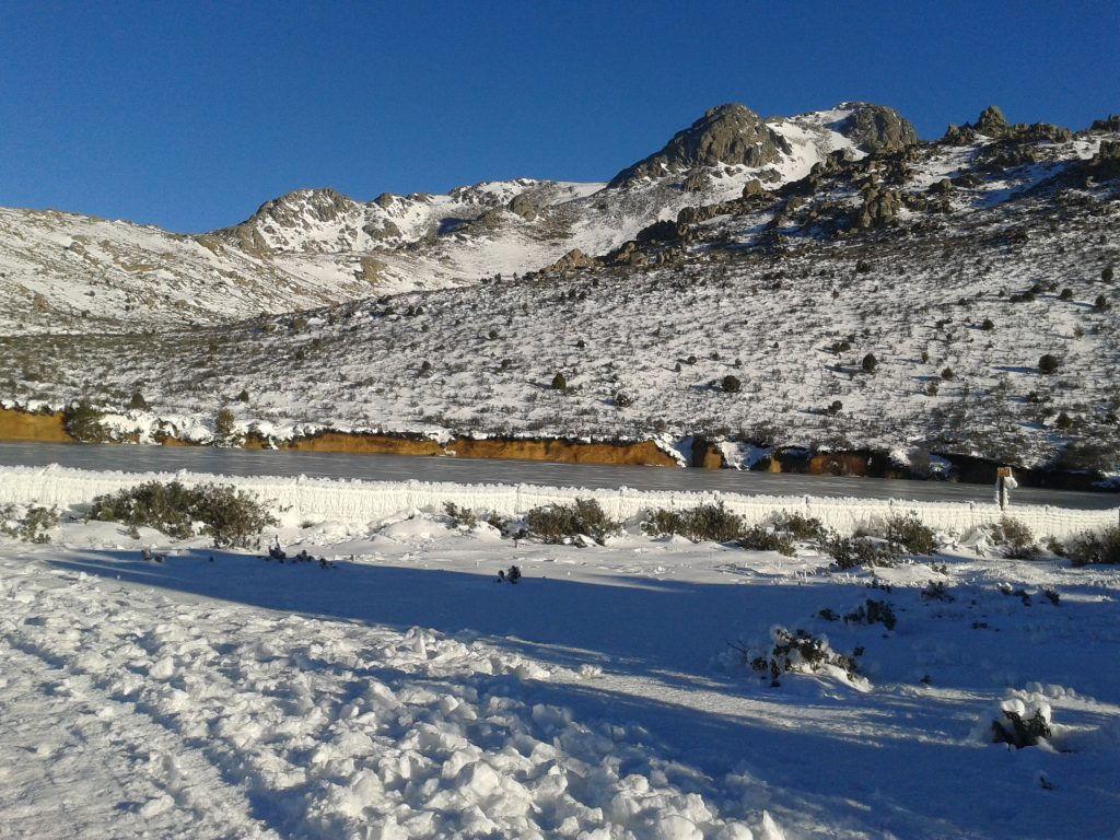 Embalse de Majaelespino Becerril de la Sierra Sierra Guadarrama