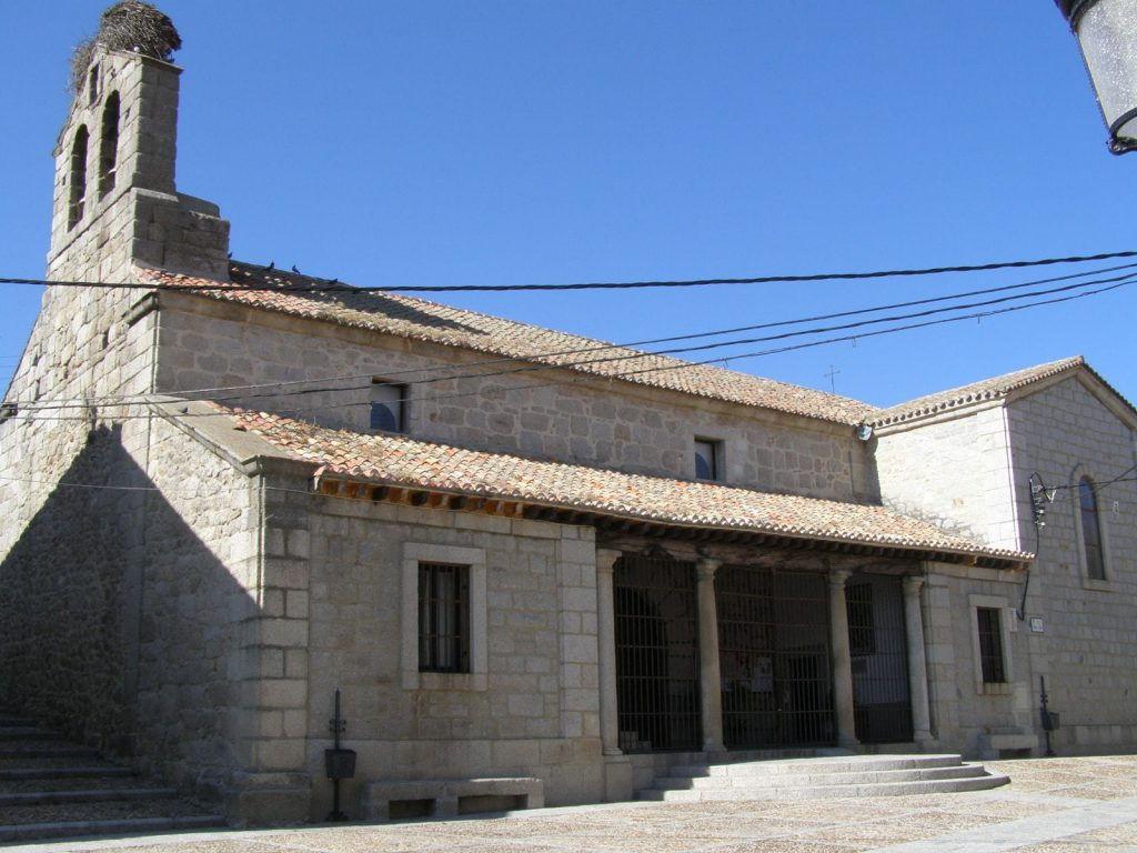 Iglesia Renacentista de la Purísima Concepción Los Molinos Sierra Madrid