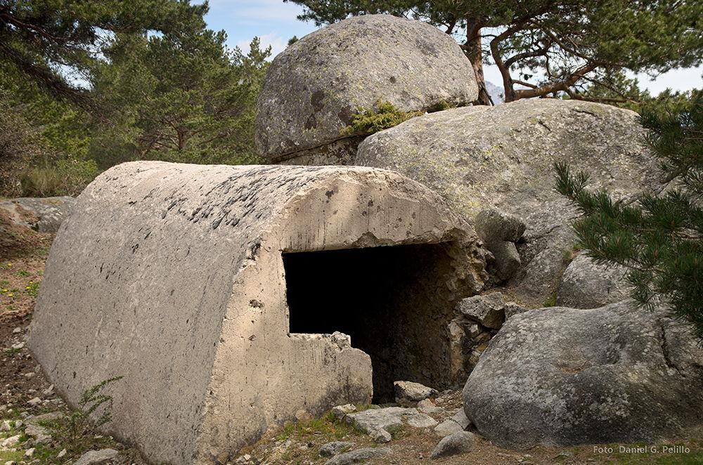 Ruta de la Guerra Civil Bunker-Sierra-de-Guadarrama