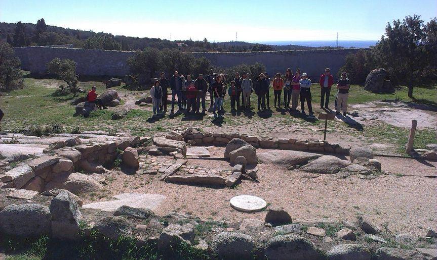 Yacimiento arqueológico de la Cabilda Sierra Madrid