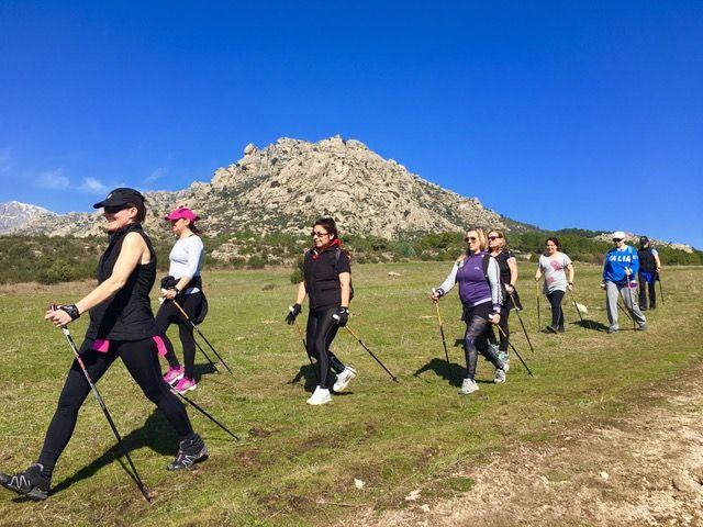 Nordic Walking en Cerceda Sierra de Guadarrama