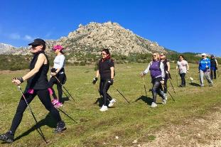 Nordic Walking en la Sierra Madrid