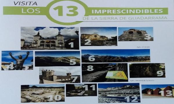 Imprescindibles sierra Madrid