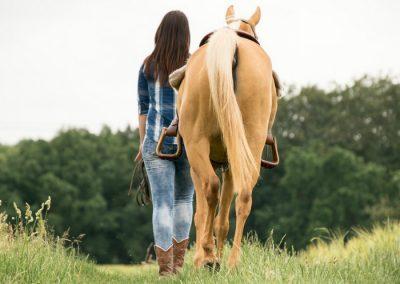 caballos y gastronomia en los molinos