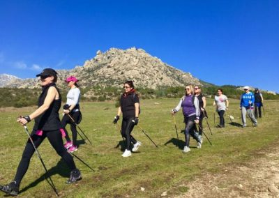 Nordic-Walking-en-Cerceda Madrid