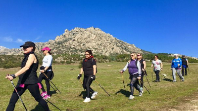 Nordic-Walking-en-Sierra de Madrid