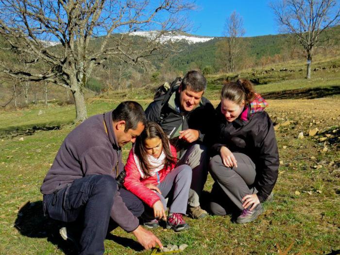 Curso de Rastros y Huellas de Animales en la Sierra