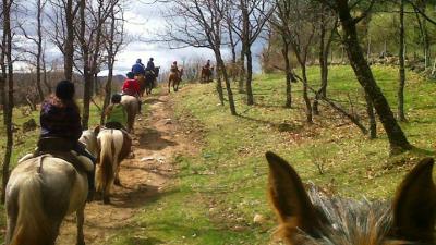 ruta a caballo Cercedilla Sierra Guadarrama