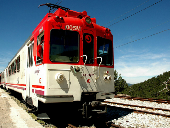 En Tren con los Romanos