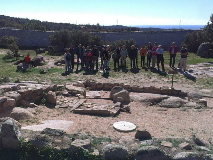 Yaciemineto arqueologico visigodo sierra madrid