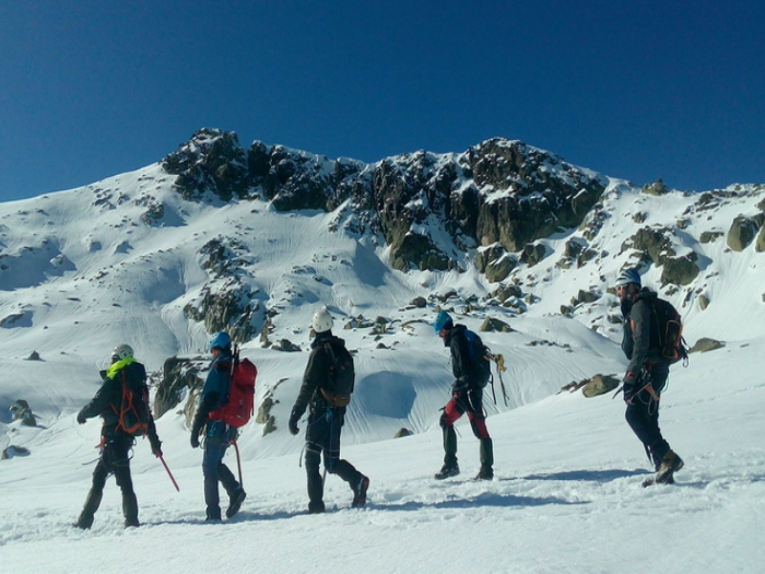 alpinismo sierra madrid