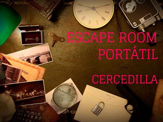 Escape room cercedilla madrid