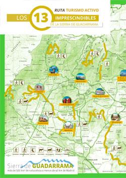 Mapa Ruta Turismo activo 13 imprescindibles