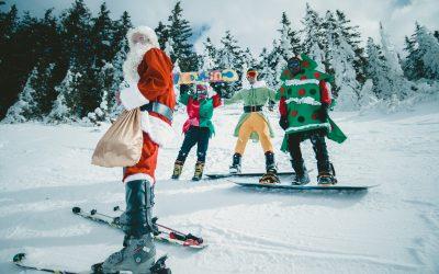 ¿Esperas a Papá Noel o te unes a esquiar con él?