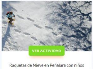 Raquetas de Nieve Cotos - Central de Reservas Sierra del Guadarama