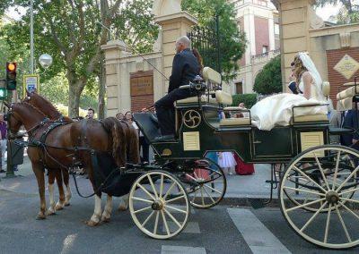 coches de caballos para bodas Madrid