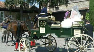 alquiler coche caballo boda Sierra de Madrid