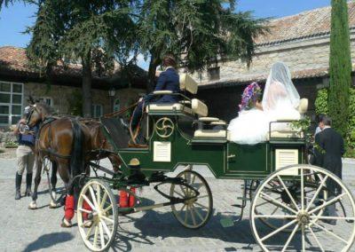 coches caballos bodas Madrid