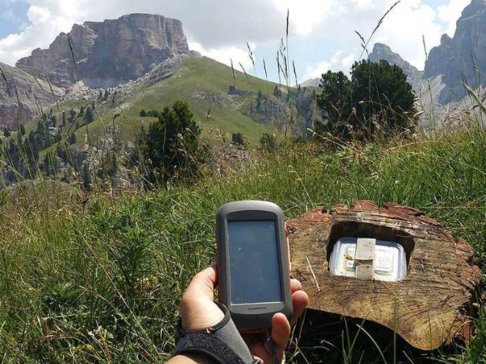 Geocaching en la Sierra de Madrid