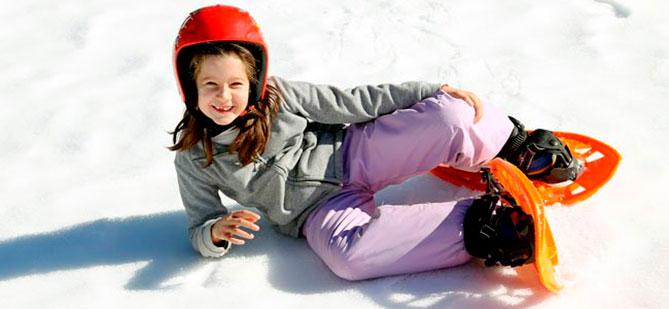 Raquetas-de-nieve-para-niños-Sierra-del-Guadarrama
