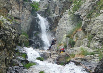 barranquismo en la Sierra de Madrid