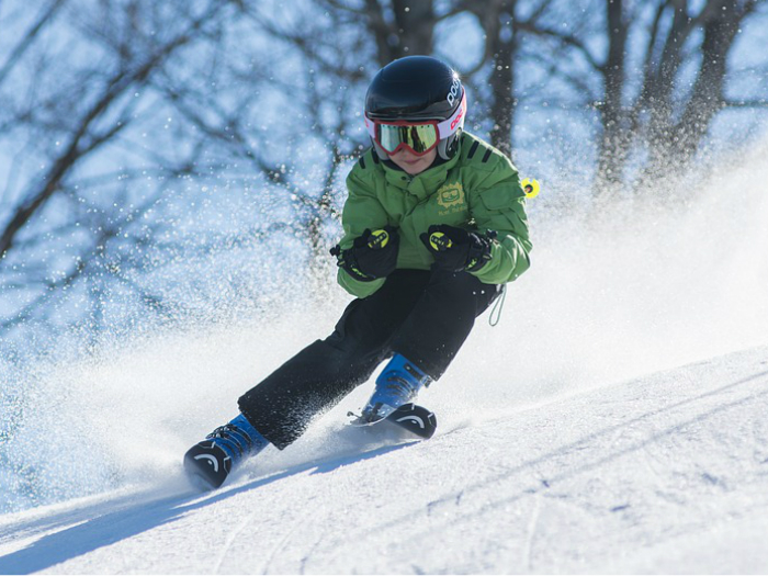 Curso de esqui sierra madrid