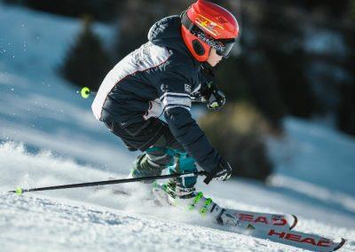 esqui en la Sierra