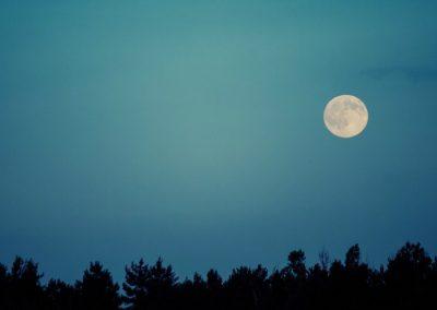 senderismo nocturno en madrid
