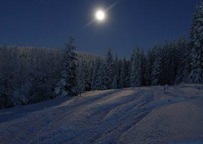raquetas nieve nocturnas en madrid