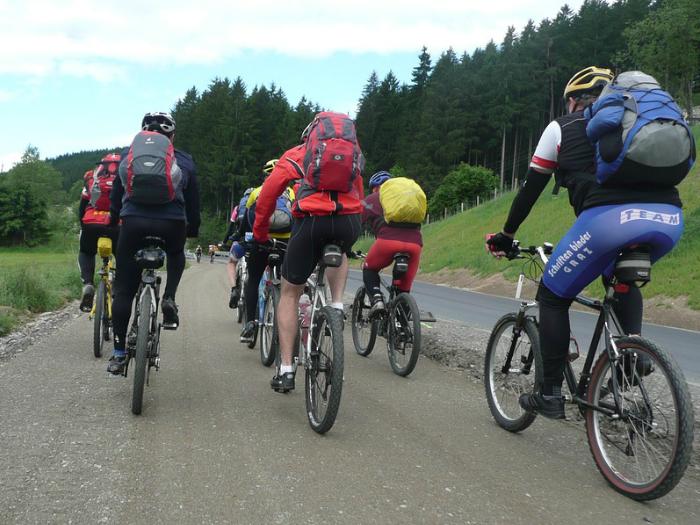 bicicleta camino mendocino