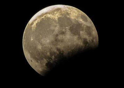 eclipse lunar Madrid