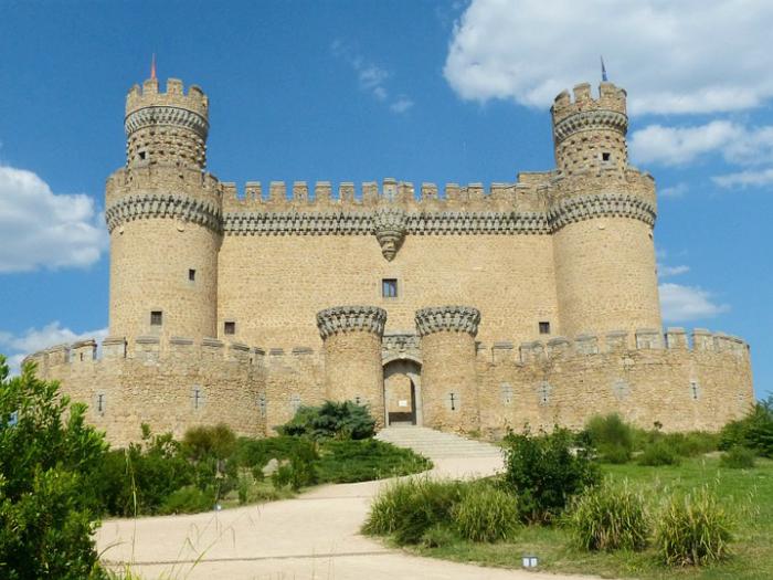 Castillo Manzanares El Real Sierra Madrid