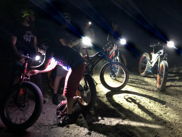 Ruta Nocturna en Bicicleta Eléctrica para contemplar las Perseidas