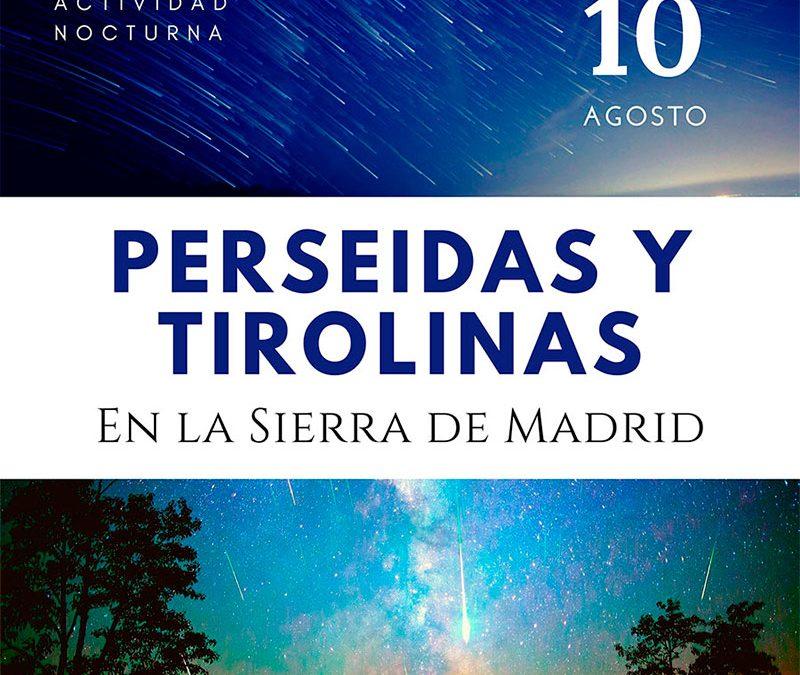 Lluvia de estrellas en la sierra de Madrid