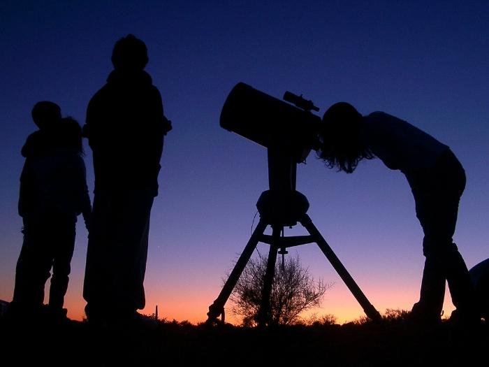 senderismo con astronomia