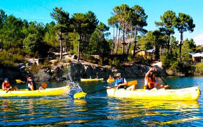 Aventura en el agua sierra del guadarrama