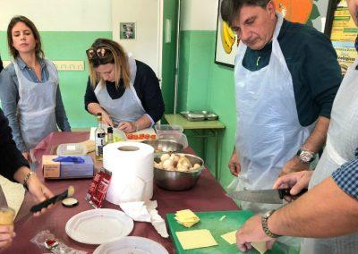 cocinar setas curso