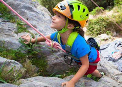 escalada niños madrid