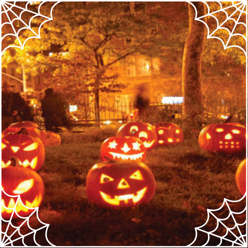 Calabazas en Halloween 3