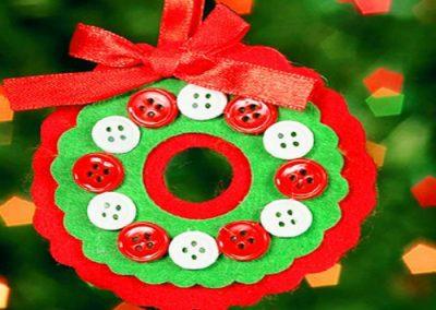 navidad adornos reciclados
