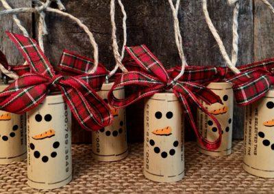 reciclaje adornos navideños guadarrama