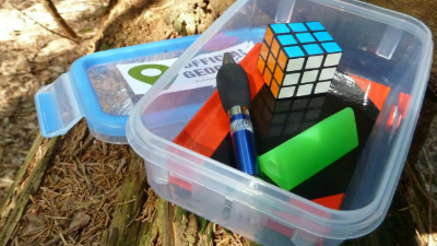 geocaching Madrid